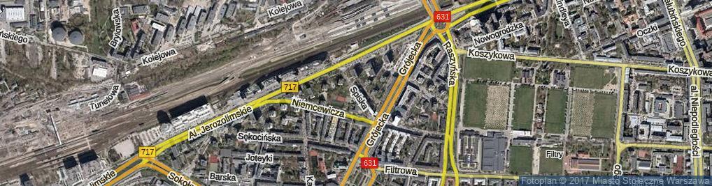 Zdjęcie satelitarne Spiska