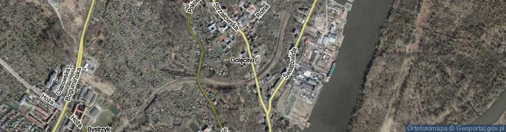 Zdjęcie satelitarne Strzałowska ul.