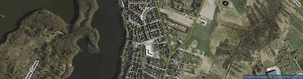 Zdjęcie satelitarne Sucharskiego Henryka