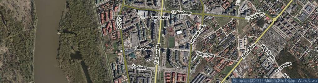 Zdjęcie satelitarne Światowida
