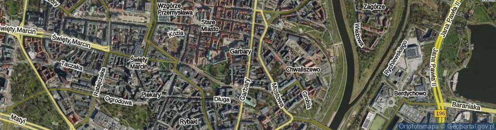 Zdjęcie satelitarne Wszystkich Świętych