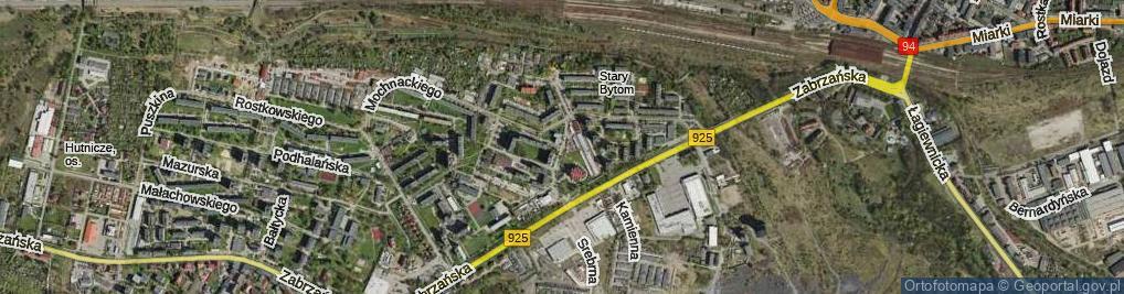 Zdjęcie satelitarne Wyzwolenia