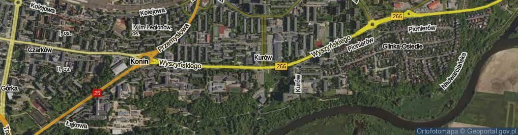 Zdjęcie satelitarne Wyszyńskiego Stefana, ks. kard.