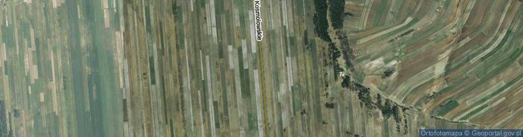 Zdjęcie satelitarne Zadole Kosmolowskie ul.