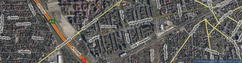 Zdjęcie satelitarne Zagłoby Jana Onufrego
