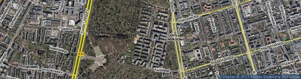 Zdjęcie satelitarne Żaryna Stanisława ul.