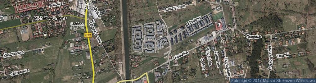 Zdjęcie satelitarne Żeglugi Wiślanej ul.