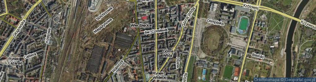 Zdjęcie satelitarne Żupańskiego Jana