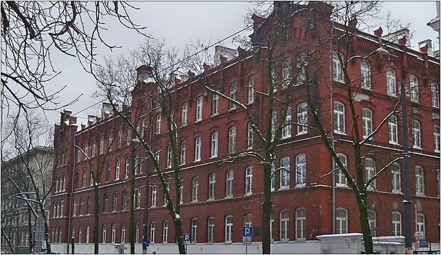 Szpital nowowiejski, Warszawa, Nowowiejska 29