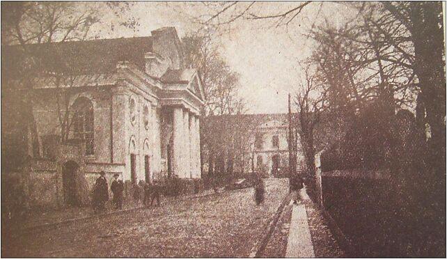 Wielun ok1915 ulSienkieficza synagoga i Szpital - inne Zdjęcia w ...