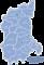 Województwo lubuskie - mapa