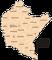 Województwo podkarpackie - mapa