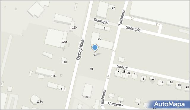 Kluczbork, Byczyńska, 93, mapa Kluczbork