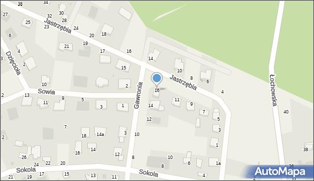 Murowaniec, Gawronia, 16, mapa Murowaniec