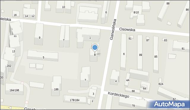 Warszawa, Garwolińska, 9, mapa Warszawy