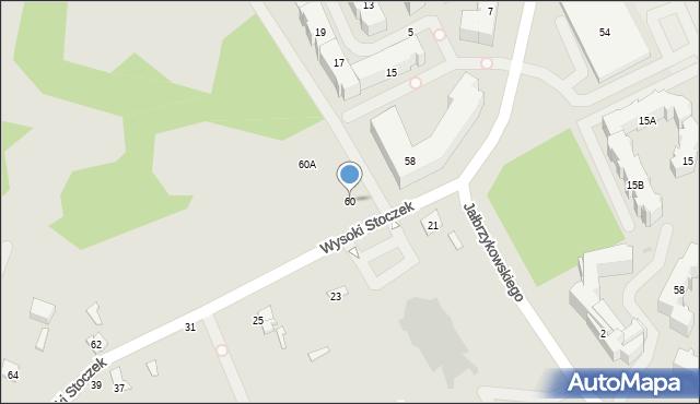 Białystok, Wysoki Stoczek, 60, mapa Białegostoku
