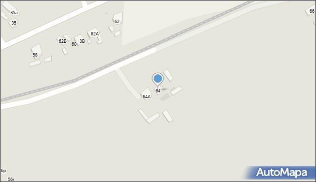Radzymin, Wyszkowska, 62A, mapa Radzymin