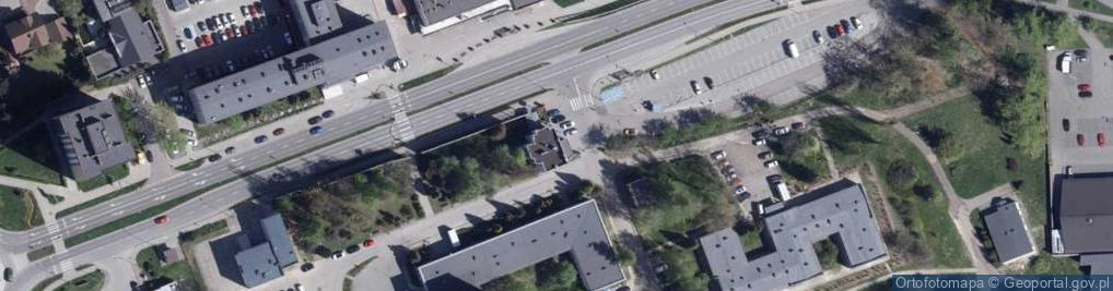 Zdjęcie satelitarne 26 Marca ul.