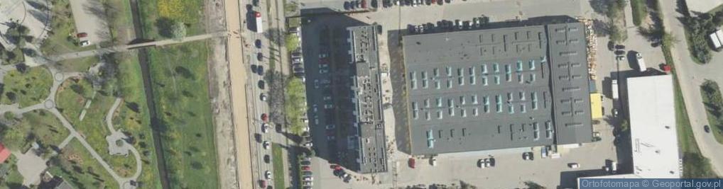 Zdjęcie satelitarne Aleja Tysiąclecia Państwa Polskiego al.