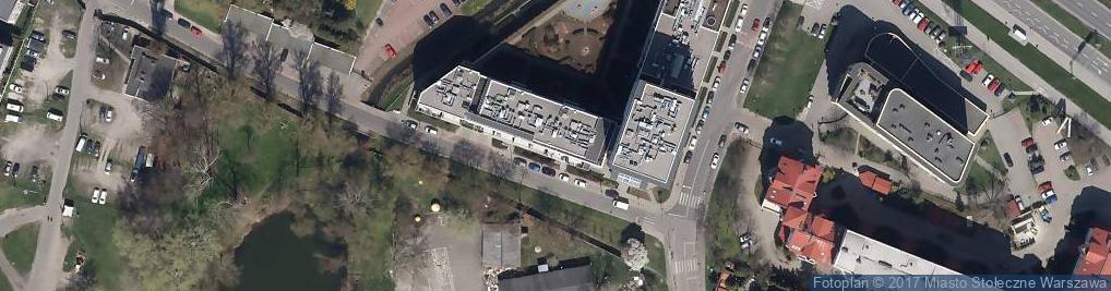 Zdjęcie satelitarne Aleja Wyścigowa al.