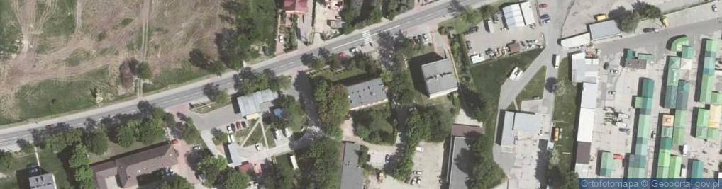 Zdjęcie satelitarne Balicka ul.