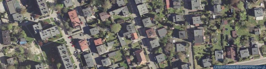 Zdjęcie satelitarne Braci Wiechułów ul.