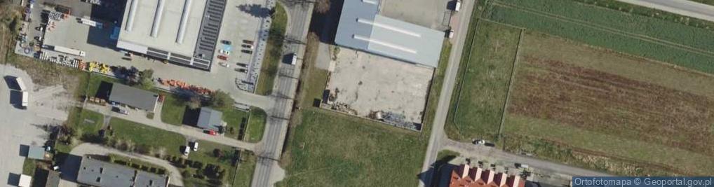 Zdjęcie satelitarne Byczyńska ul.