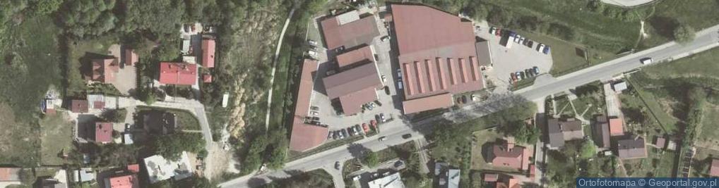 Zdjęcie satelitarne Cechowa ul.