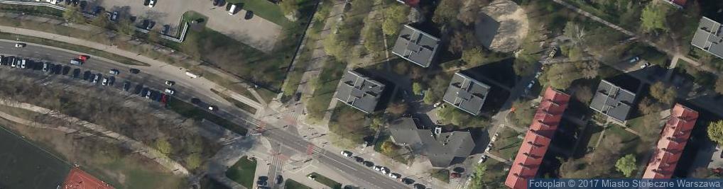 Zdjęcie satelitarne Garwolińska ul.