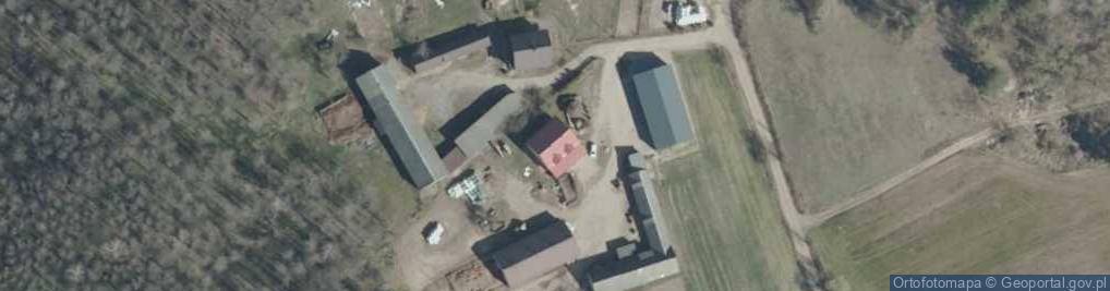 Zdjęcie satelitarne Grądy Małe ul.