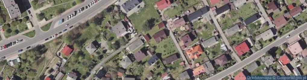Zdjęcie satelitarne Irysowa ul.