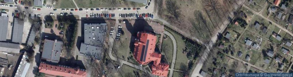 Zdjęcie satelitarne Klaretyńska ul.