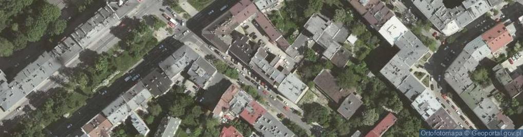 Zdjęcie satelitarne Krowoderska ul.