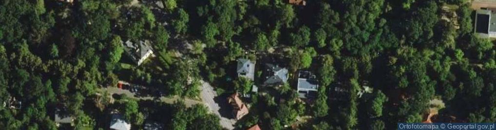 Zdjęcie satelitarne Literacka ul.