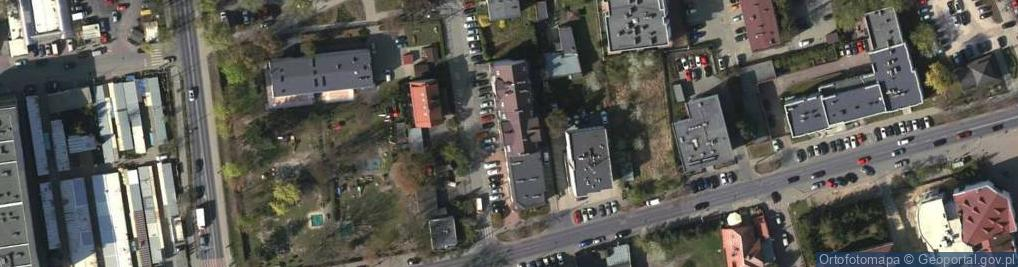 Zdjęcie satelitarne Ludowa ul.