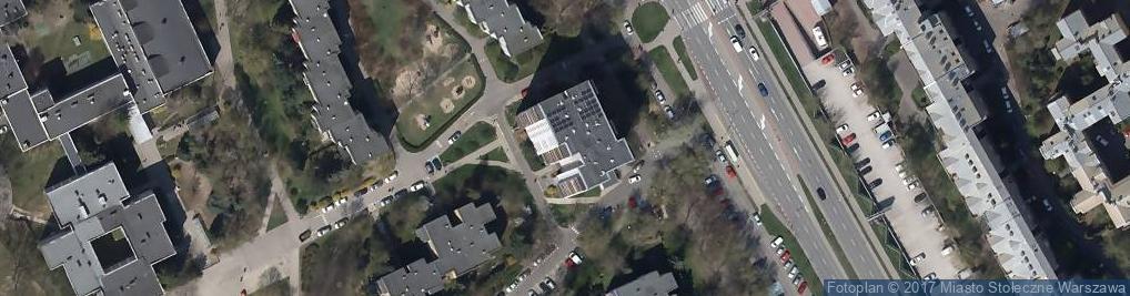 Zdjęcie satelitarne Mandarynki ul.