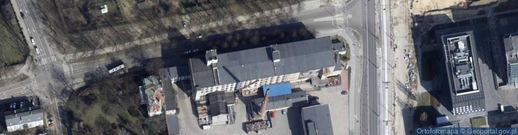 Zdjęcie satelitarne Milionowa ul.