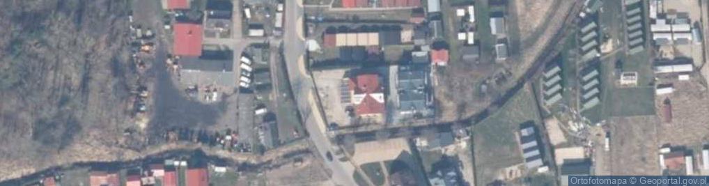 Zdjęcie satelitarne Morska ul.