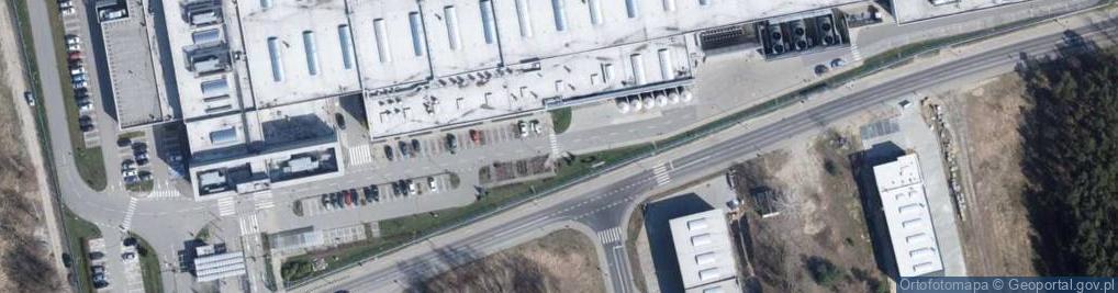 Zdjęcie satelitarne Nowy Józefów ul.