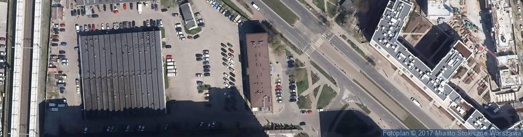 Zdjęcie satelitarne Obozowa ul.