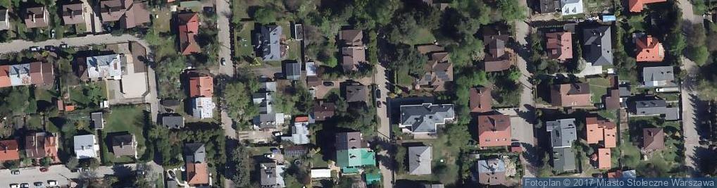 Zdjęcie satelitarne Obiegowa ul.