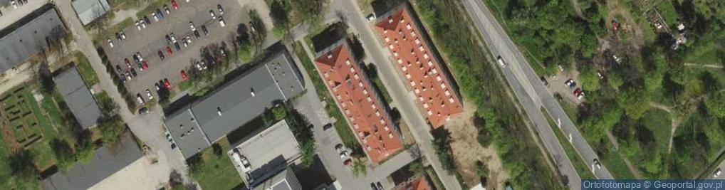 Zdjęcie satelitarne Obornicka ul.