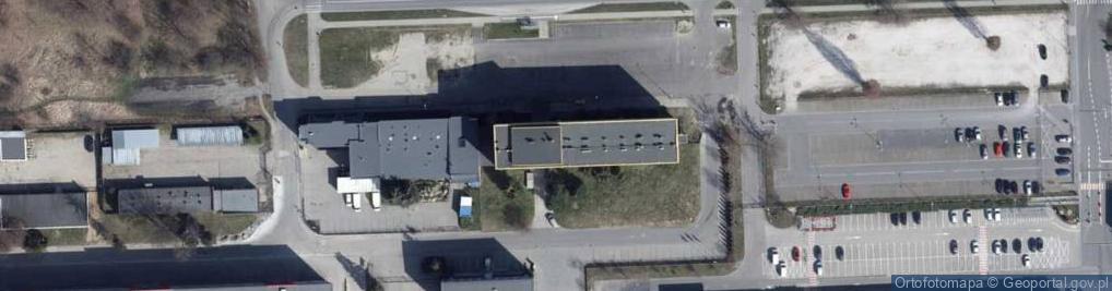 Zdjęcie satelitarne Papiernicza ul.