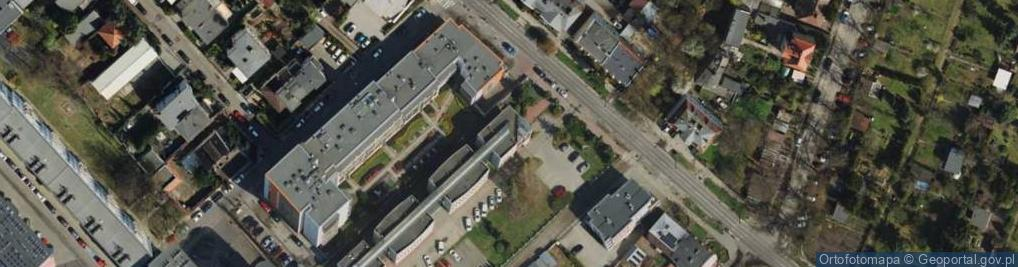 Zdjęcie satelitarne Palacza Macieja ul.