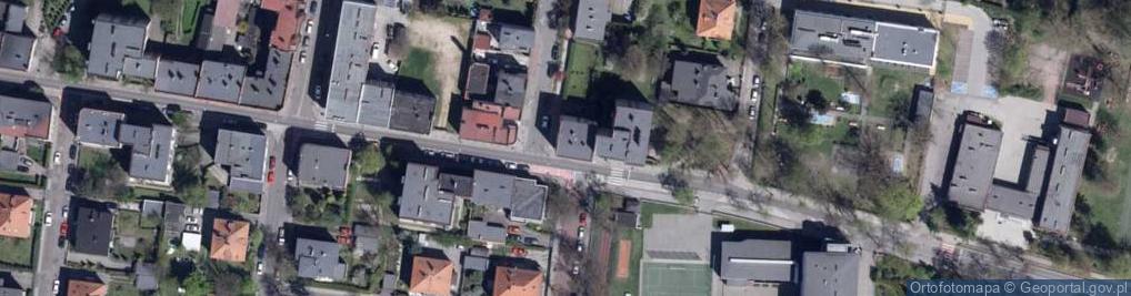 Zdjęcie satelitarne Piasta ul.