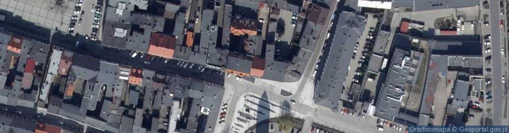 Zdjęcie satelitarne Plac Rowińskiego Stefana pl.