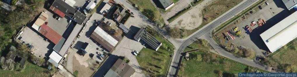 Zdjęcie satelitarne Pokrzywno ul.