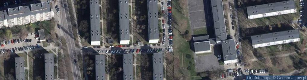 Zdjęcie satelitarne Rudnickiego Lucjana ul.