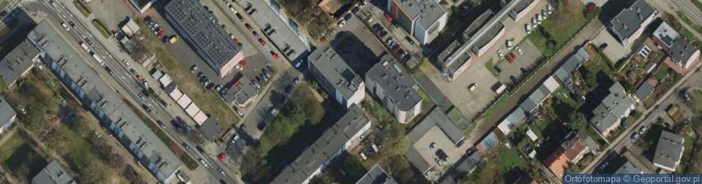 Zdjęcie satelitarne Rynarzewska ul.