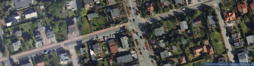 Zdjęcie satelitarne Rynkowa ul.